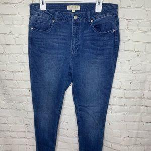 Harper Heritage Hi Rise Skinny Jeans